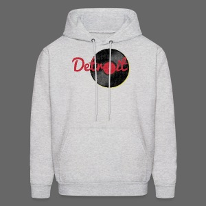 Detroit Records - Men's Hoodie