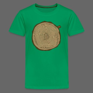 Mitten Tree Rings - Kids' Premium T-Shirt