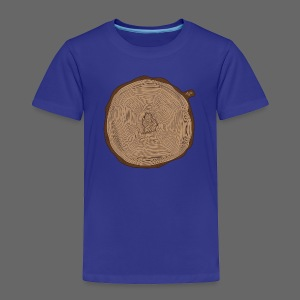 Mitten Tree Rings - Toddler Premium T-Shirt