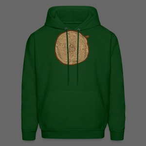 Mitten Tree Rings - Men's Hoodie