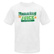 T-Shirts ~ Men's T-Shirt by American Apparel ~ Running on Juice: Men's Fitted T-Shirt