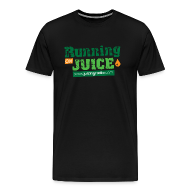 T-Shirts ~ Men's Premium T-Shirt ~ Running on Juice: Men's Premium T-Shirt