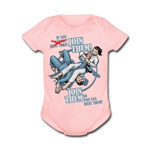 Join Them - Short Sleeve Baby Bodysuit