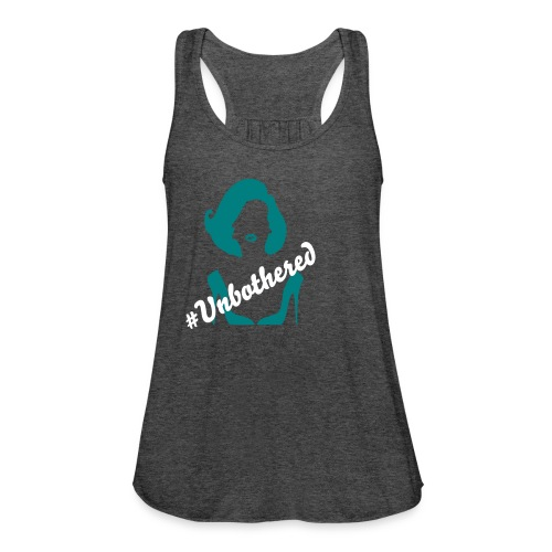 #Unbothered - Women's Flowy Tank Top by Bella