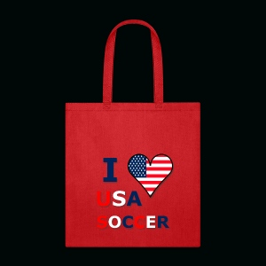 I Heart USA Soccer - Tote Bag
