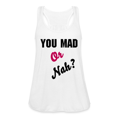 #Unbothered - Tote Bag - Women's Flowy Tank Top by Bella