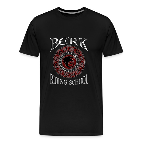 Berk Riding School - Men's Premium T-Shirt