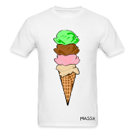 T-Shirts ~ Men's T-Shirt ~ Ice Cream