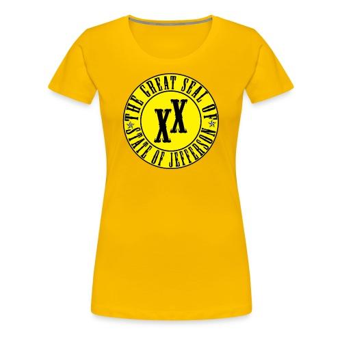 Women's State of Jefferson T-Shirt - Women's Premium T-Shirt