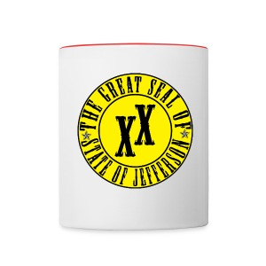 State of Jefferson Mug - Contrast Coffee Mug