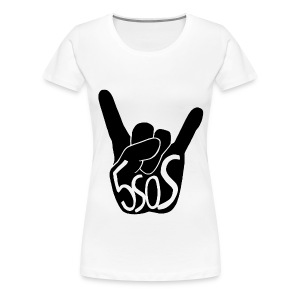 5SOS - Rock On - Women's Premium T-Shirt