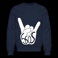 Long Sleeve Shirts ~ Crewneck Sweatshirt ~ 5SOS - Rock On