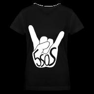 Women's T-Shirts ~ Women's V-Neck T-Shirt ~ 5SOS - Rock On