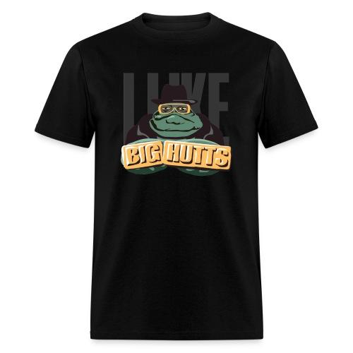 I Like Big Hutts (on Dark) - Men's T-Shirt