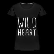 T-Shirts ~ Women's Premium T-Shirt ~ The Vamps - Wild Heart