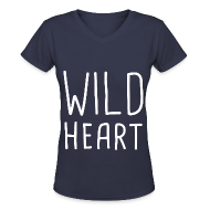 T-Shirts ~ Women's V-Neck T-Shirt ~ The Vamps - Wild Heart