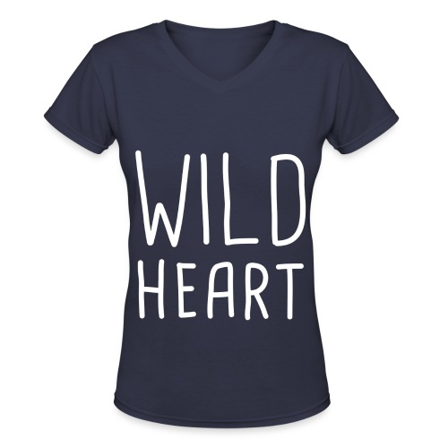 The Vamps - Wild Heart - Women's V-Neck T-Shirt