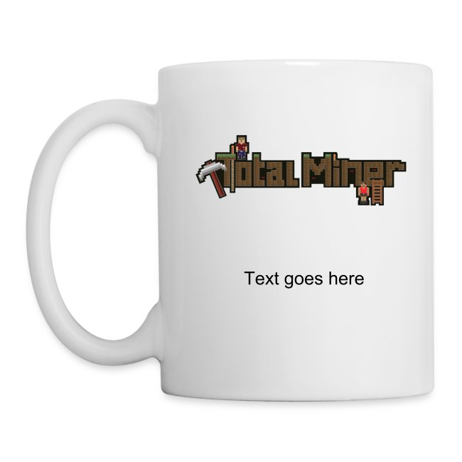 """""""The Quad"""" 2 sided coffee mug with personalized text"""