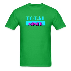Total Miner Miami Vice parody logo T-Shirt - Men's T-Shirt