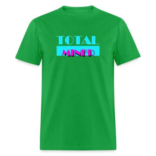 Total Miner Miami Vice parody logo T-Shirt - Men's T-Shirt