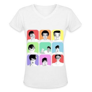 1D - Liam's Selfies - Women's V-Neck T-Shirt