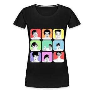 1D - Liam's Selfies - Women's Premium T-Shirt