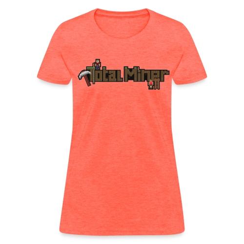 Total Miner Logo Women's T-Shirt - Women's T-Shirt