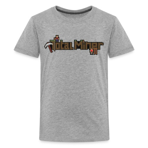 Total Miner Logo Kids Premium T-Shirt - Kids' Premium T-Shirt