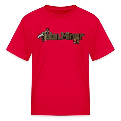 Total Miner Logo Kids T-Shirt - Kids' T-Shirt