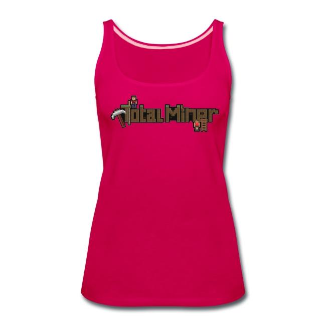 Total Miner Logo Women's Premium Tank Top