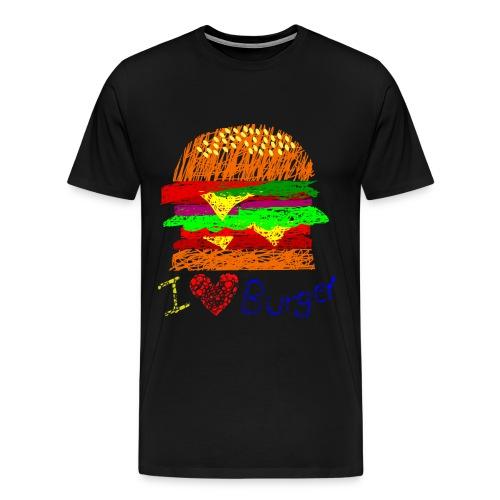 Burger!!! (Men) - Men's Premium T-Shirt