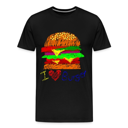 Burger!!! (Men) - Men's Premium T-Shirt