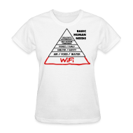 Women's T-Shirts ~ Women's T-Shirt ~ Basic Human Needs
