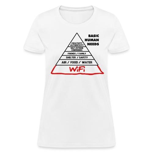 Basic Human Needs - Women's T-Shirt