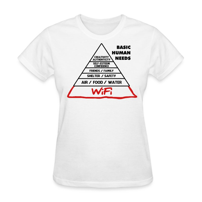 Basic Human Needs - Women's T-Shirt