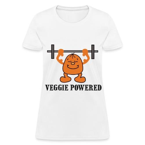 Veggie Powered - Women's T-Shirt