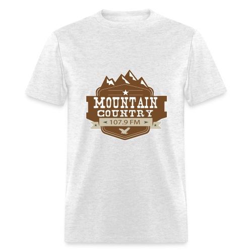 $15 Mountain Country 107.9 Men's Basic T-Shirt - Men's T-Shirt