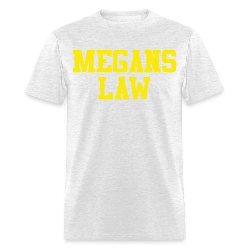 Megan's Law T-Shirt - Men's T-Shirt