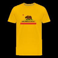 T-Shirts ~ Men's Premium T-Shirt ~ Los Angeles Beast- No Background