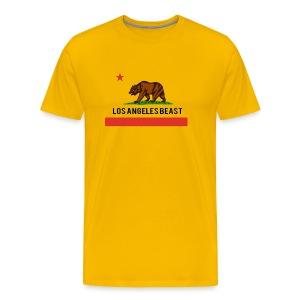 Los Angeles Beast- No Background - Men's Premium T-Shirt