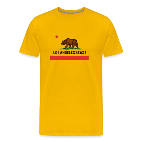 Los Angeles Beast- No Background - Men's Premium T-Shirt