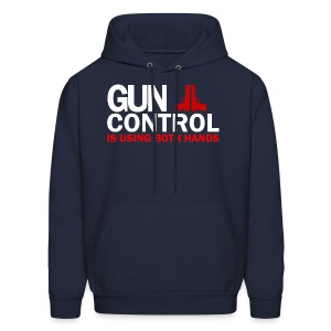 Hooded Sweater: Gun Control - Men's Hoodie