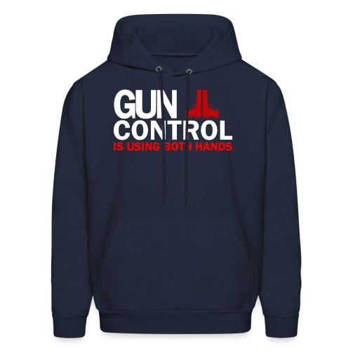 Hooded Sweater: Gun Control - Men's Hoodie