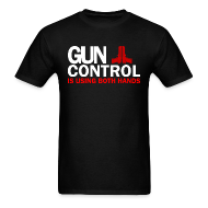 T-Shirts ~ Men's T-Shirt ~ Standard Tee: Gun Control