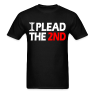 T-Shirts ~ Men's T-Shirt ~ Standard Tee: Plead The Second
