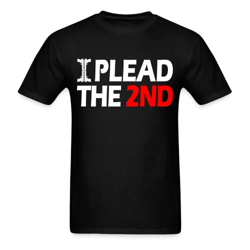 Standard Tee: Plead The Second - Men's T-Shirt