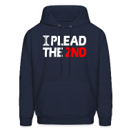 Hoodies ~ Men's Hoodie ~ Hooded Sweater: Plead The Second!