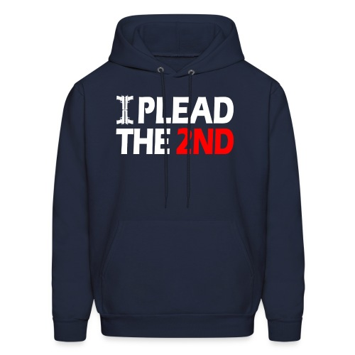 Hooded Sweater: Plead The Second! - Men's Hoodie