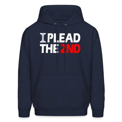 Hooded Sweater: Plead The Second! - Men's Hoodie