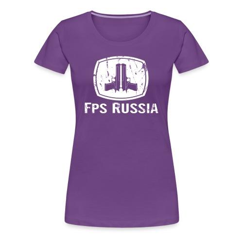 Ladies Premium: Vintage Country FPS - Women's Premium T-Shirt